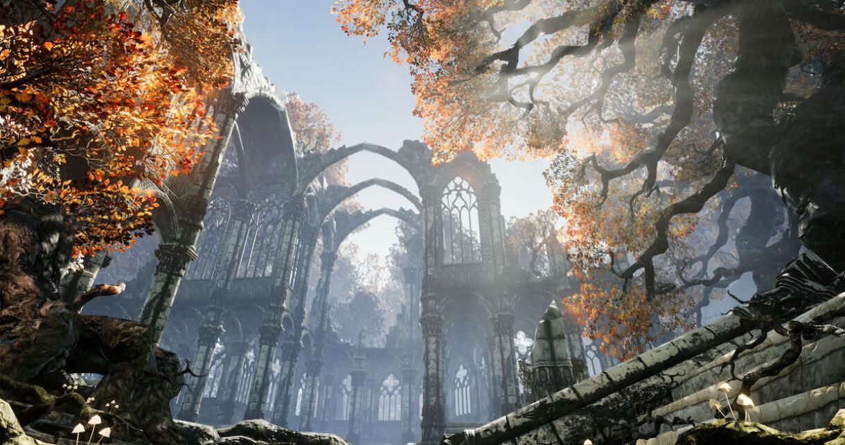 Simple Gothic Scene Breakdown
