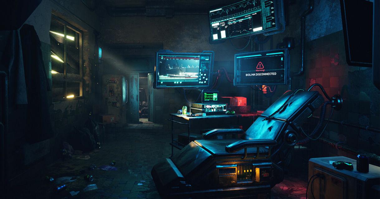 Sci-Fi Scene in UE4: Lighting, Texturing, Props