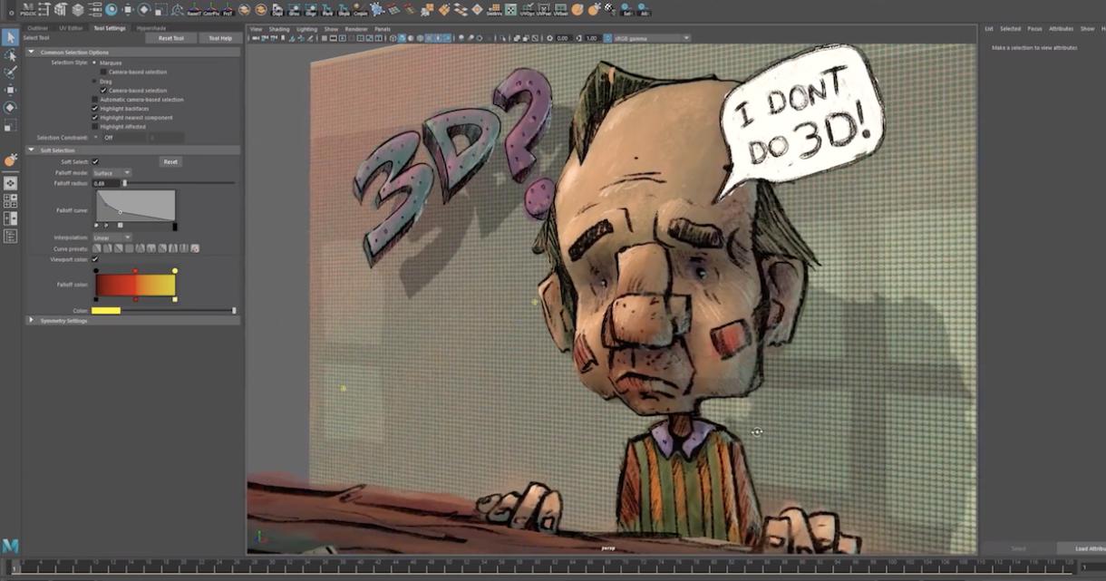Convert 2D Art Into 3D Characters and Scenes