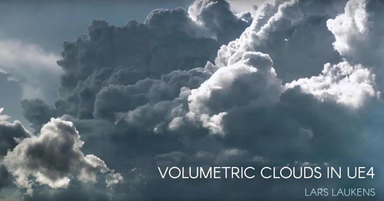 Working on Volumetric Clouds in UE4