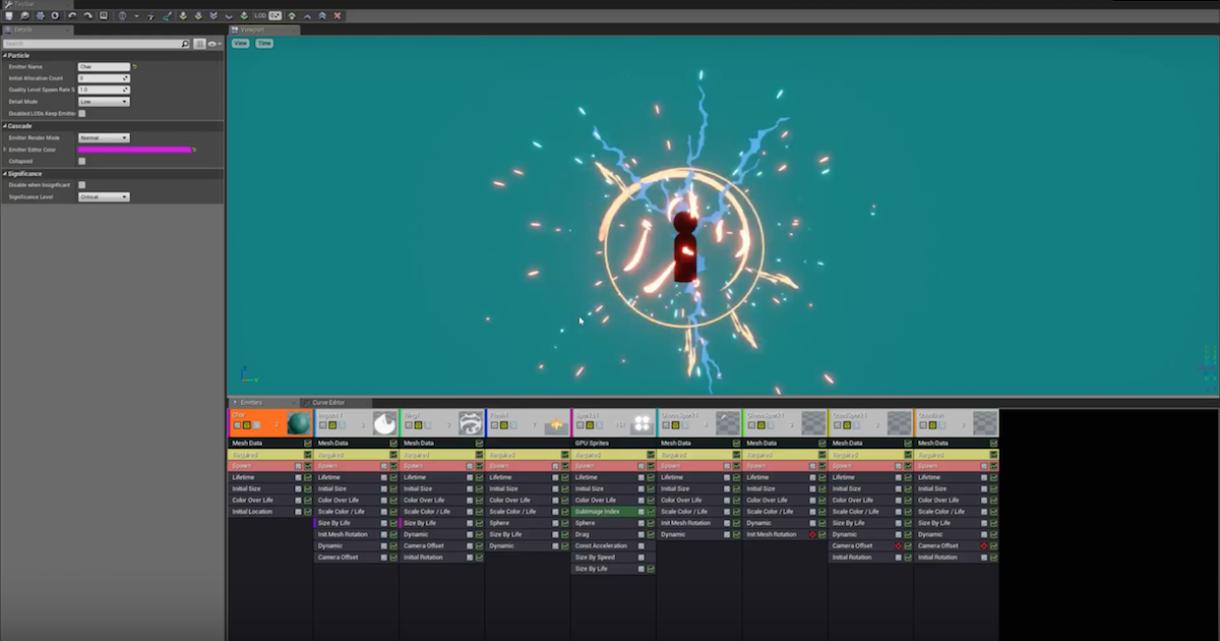 Modular Anime/Stylized VFX Pack for UE4
