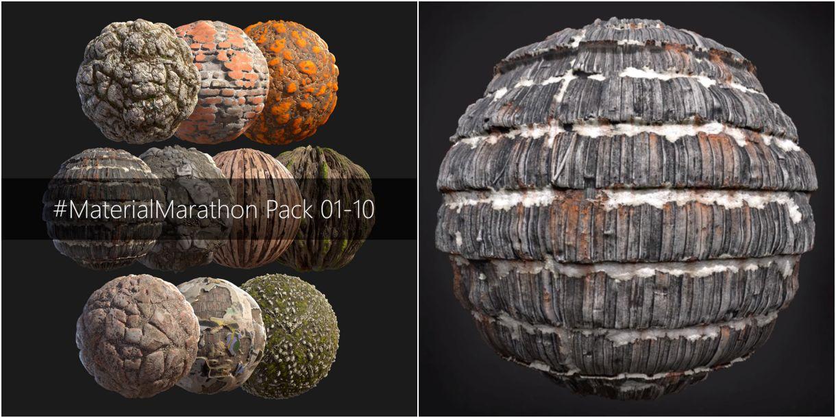 #MaterialMarathon: 10 Free Materials from Nikola Damjanov