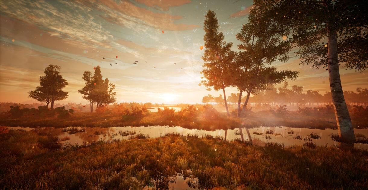 Recreating Autumn in a Fantasy Game Scene