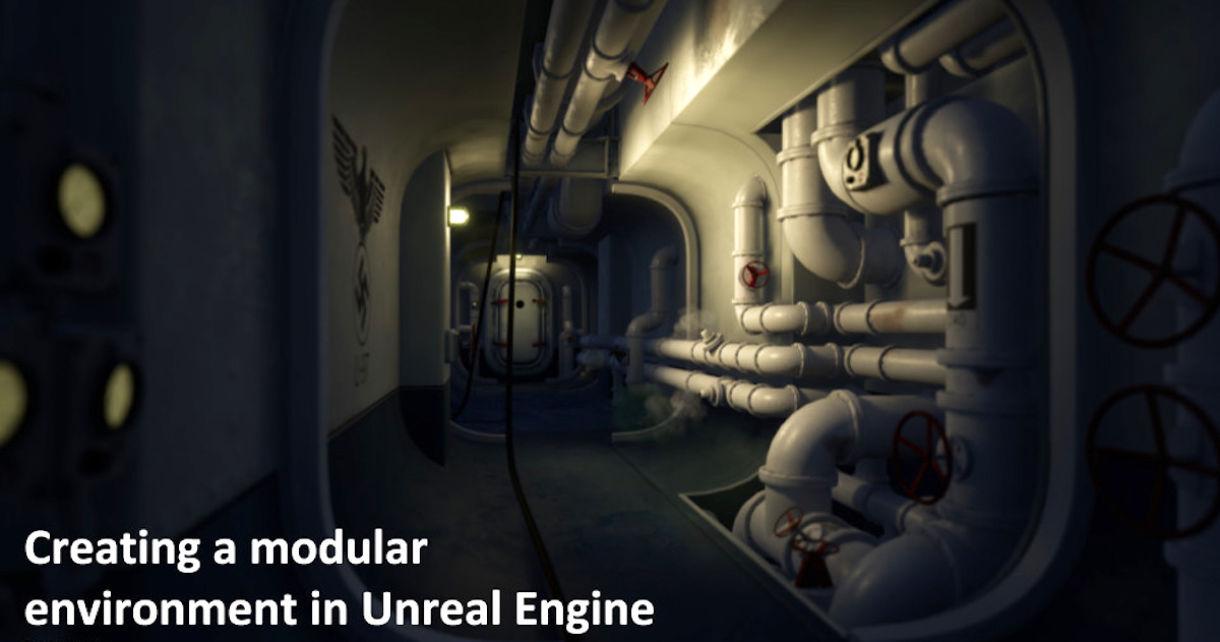 Recreating Wolfenstein Submarines in UE4