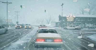 Winter Retro Scene: Production Details