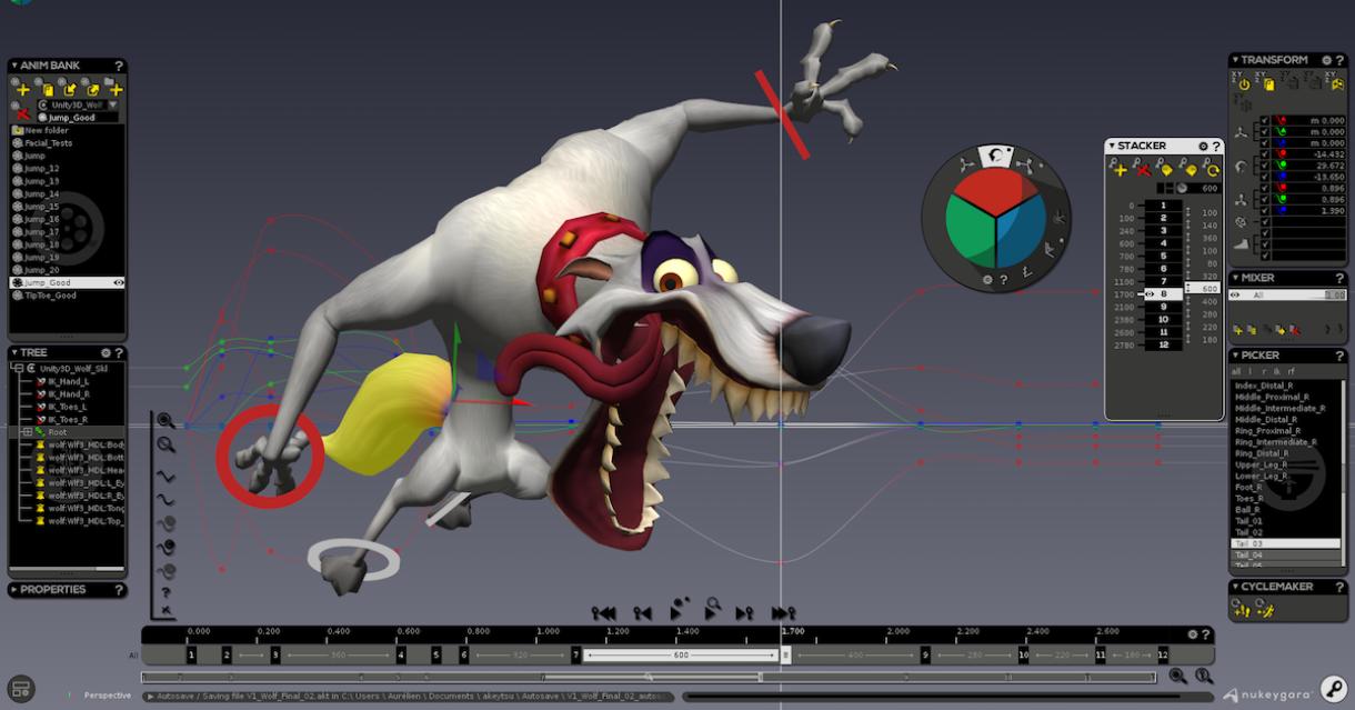 Nukeygara Reinvents 3D Animation with Akeytsu