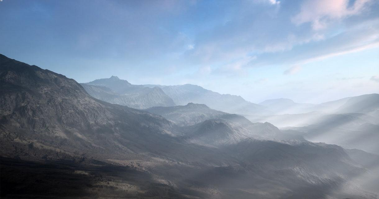 Pixel Perfect Polygons: Dead Hills Landscape 2.0