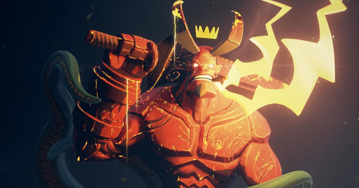 Recreating Hellboy in 3D