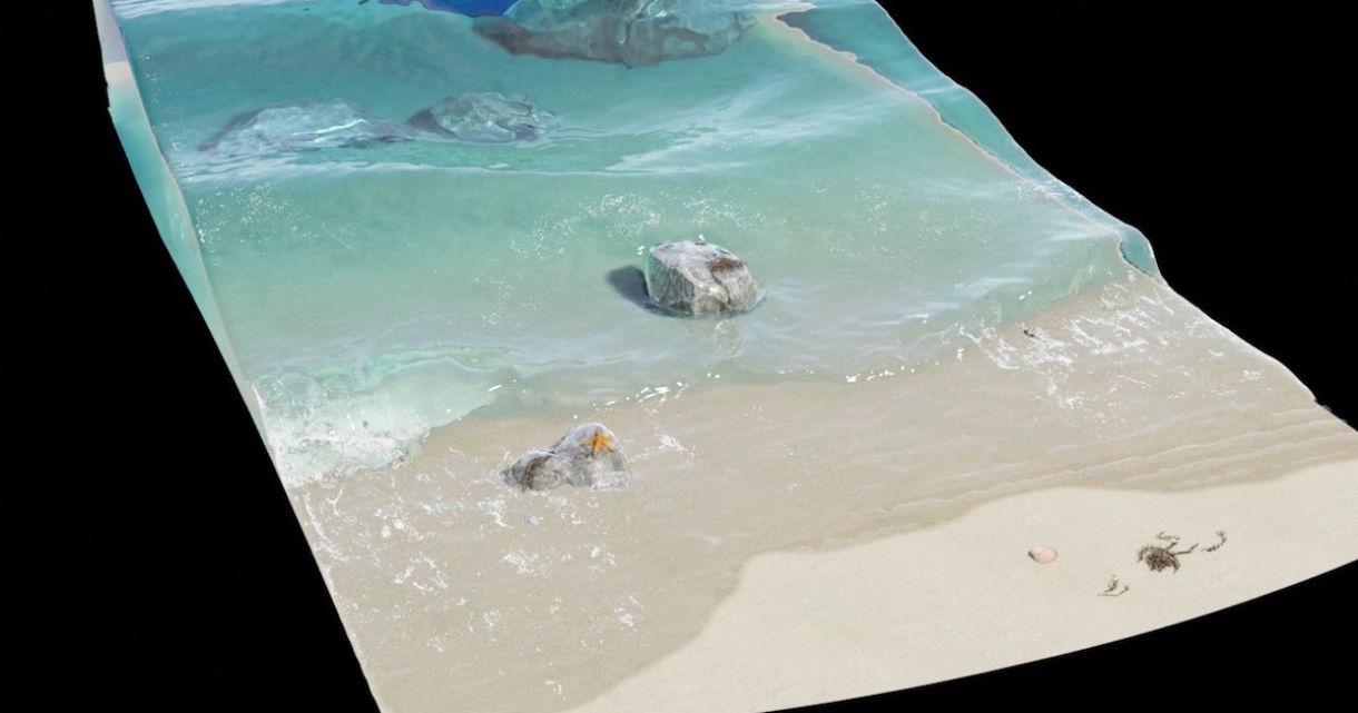Wave Simulation in Blender
