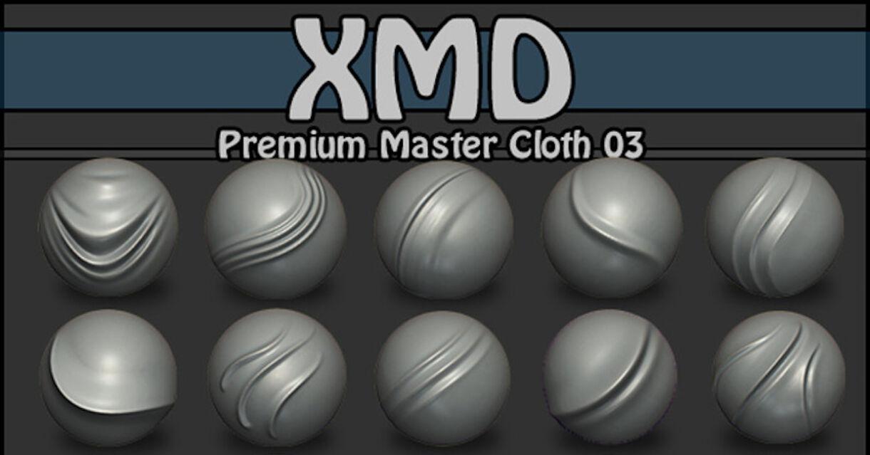 ZBrush Brushes: Premium Master Cloth