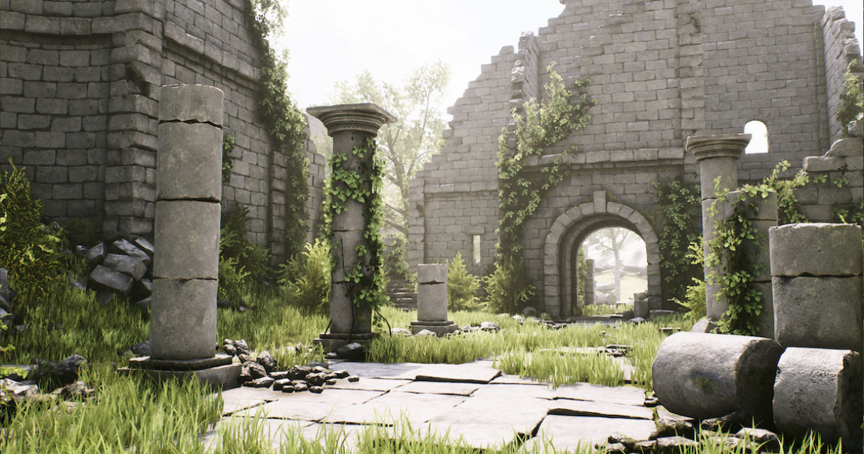 Ancient Ruin Pack For Unreal