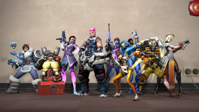 Comparing Team Fortress 2 and Overwatch Art Direction