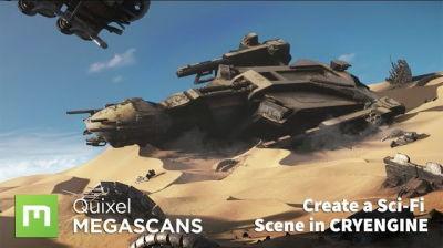 Tutorial: Sci-Fi Scene Production