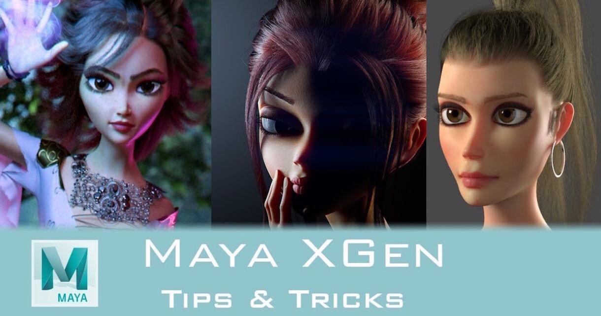 Tips & Tricks: Hair with Maya XGen