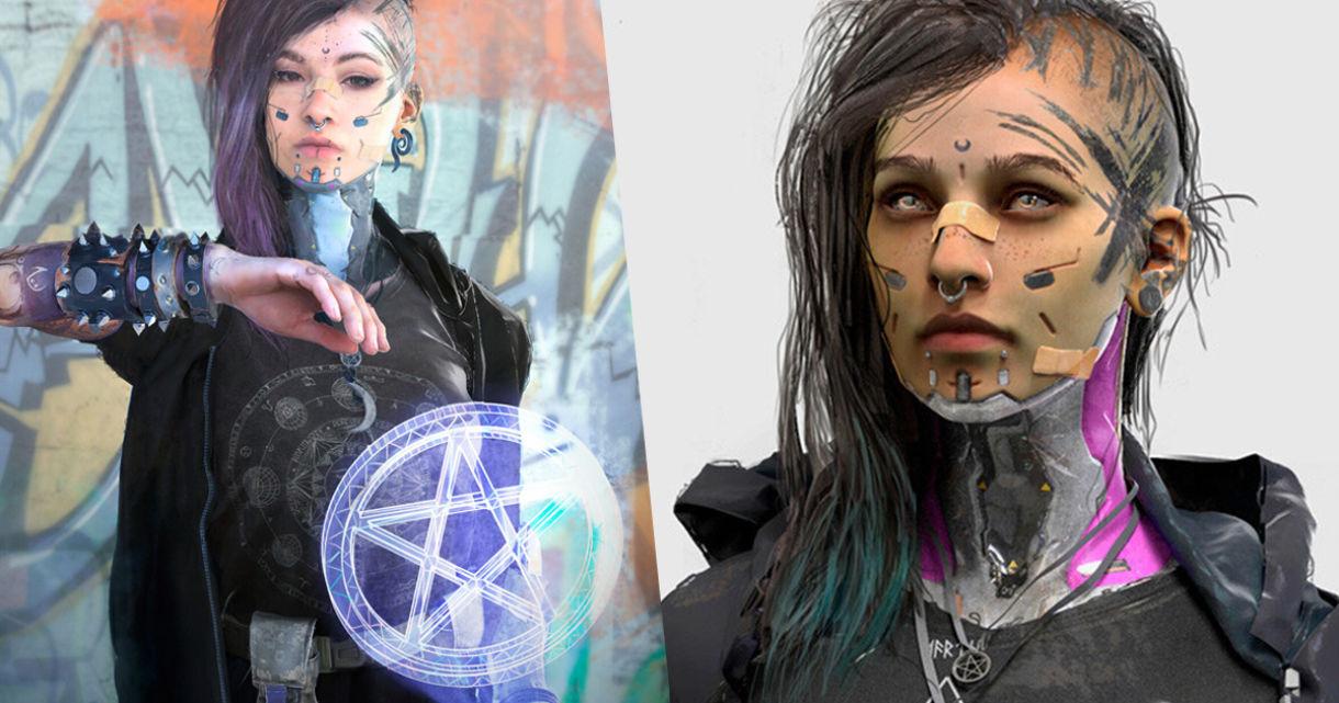 Breakdown: Cyberpunk Shaman in ZBrush & KeyShot