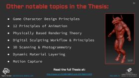 Thesis Overview: Workflows for Creating 3D Game Characters