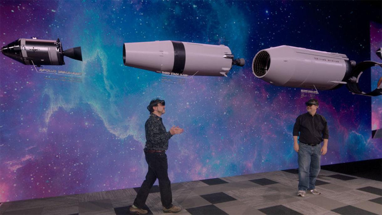 Epic's Apollo 11 HoloLens Demo