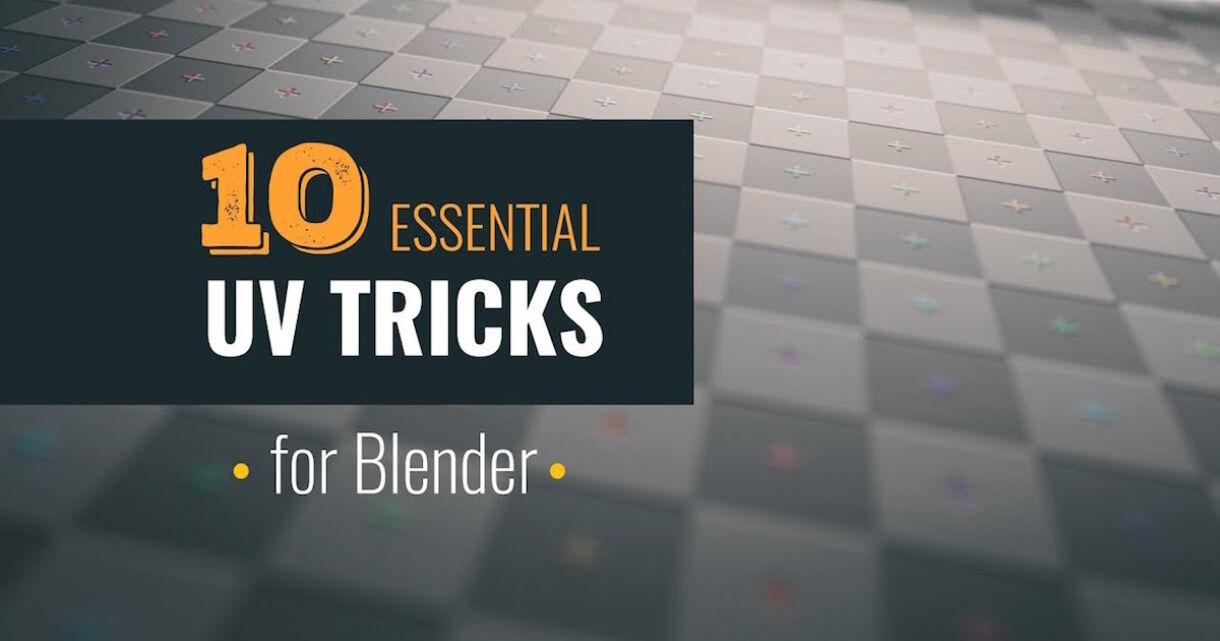 Blender Guide: 10 Essential UV Tips and Tricks