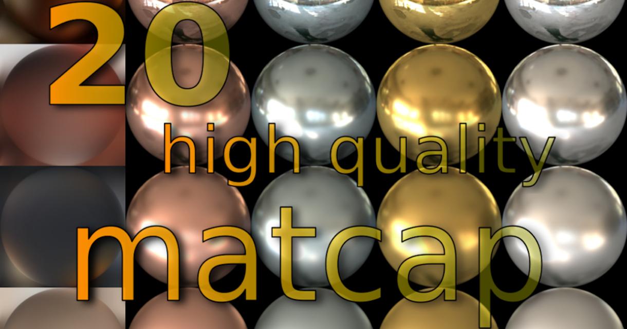Free Hiqh-quality Matcaps