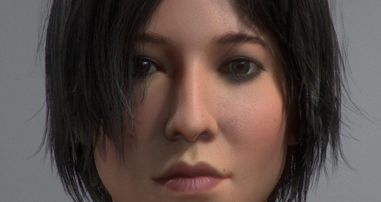 Tutorial: Asian Girl Realtime Hair