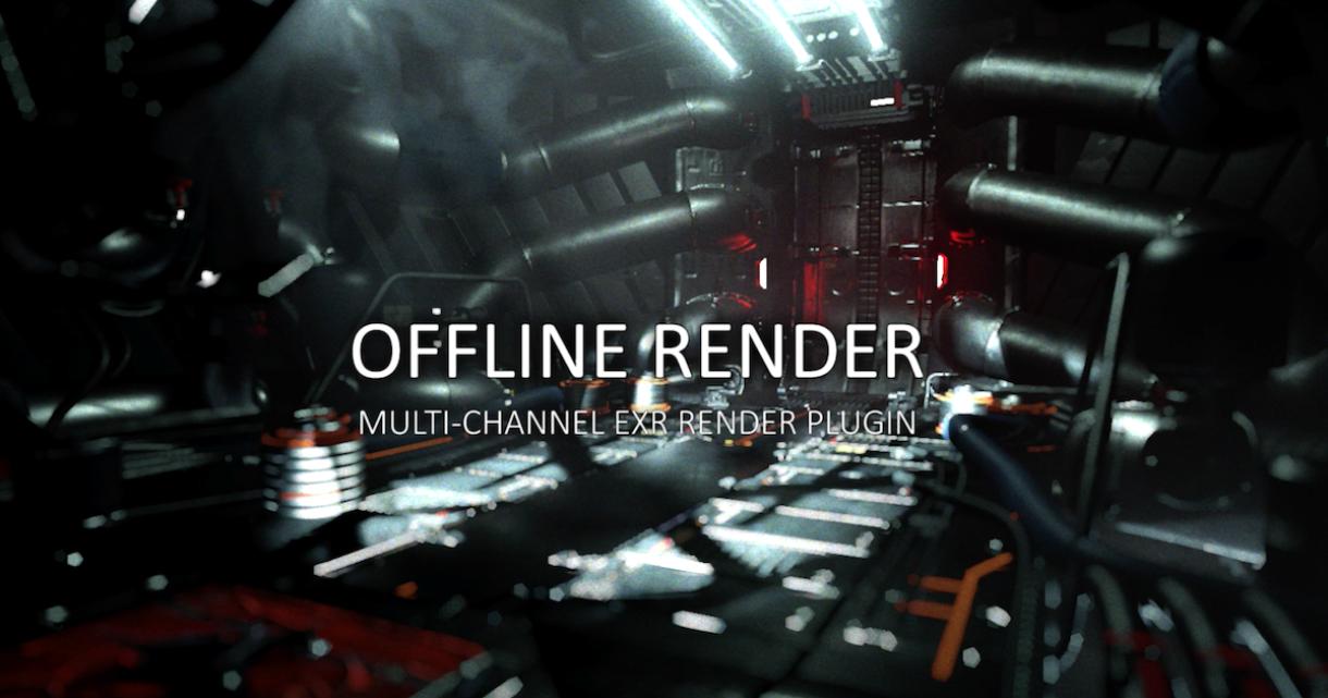 Offline Render for Unity
