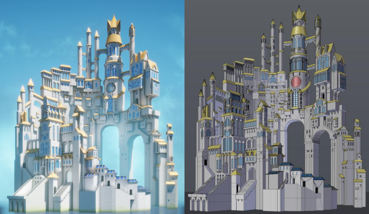 Creating a Miyazaki-Style Tower in UE4