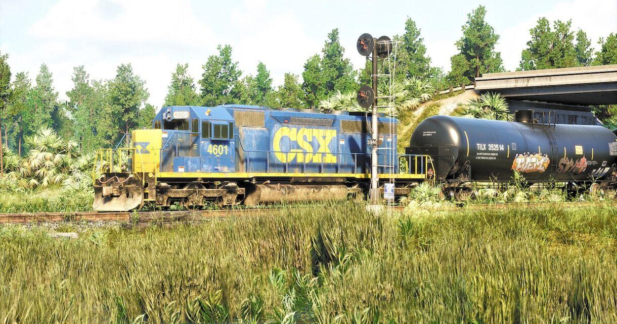 Florida Ethanol Train: Combining Megascans and UE4