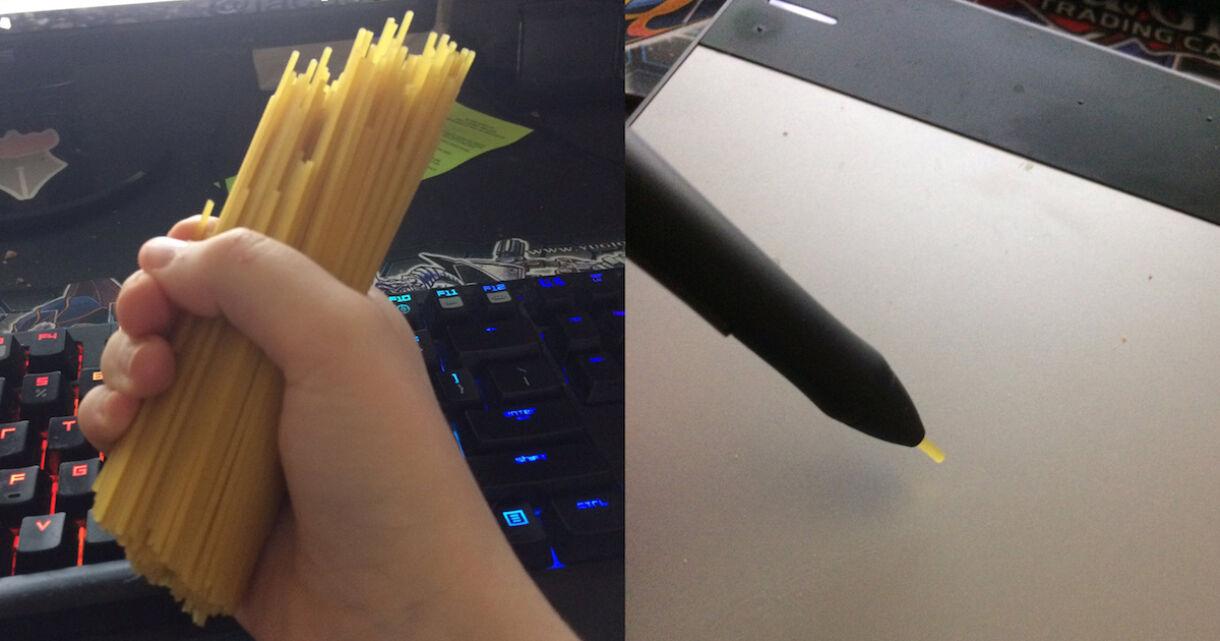 Save Money on Costly Wacom Nibs with Spaghetti