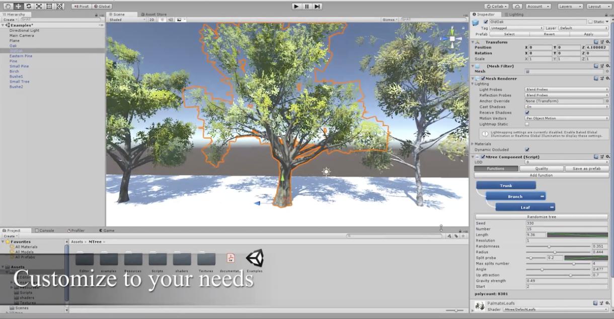 Mtree – Tree Creation in Unity