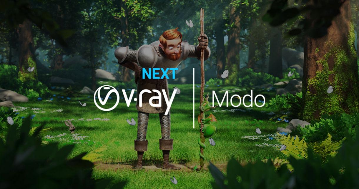 V-Ray Next for Modo Available