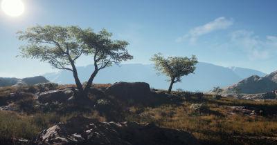 Procedural Landscape Generation for Game Environments