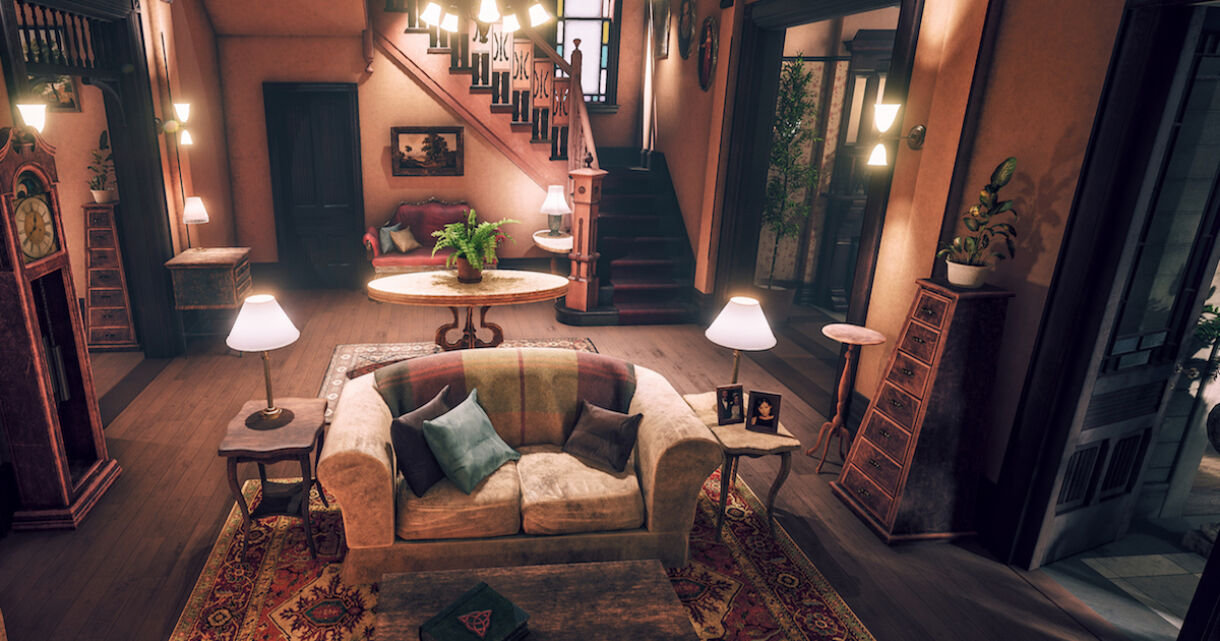 Recreating 'Charmed' TV Show Set in UE4