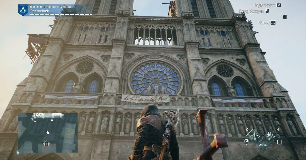 Notre-Dame: Ubisoft Donates and Makes Unity Free