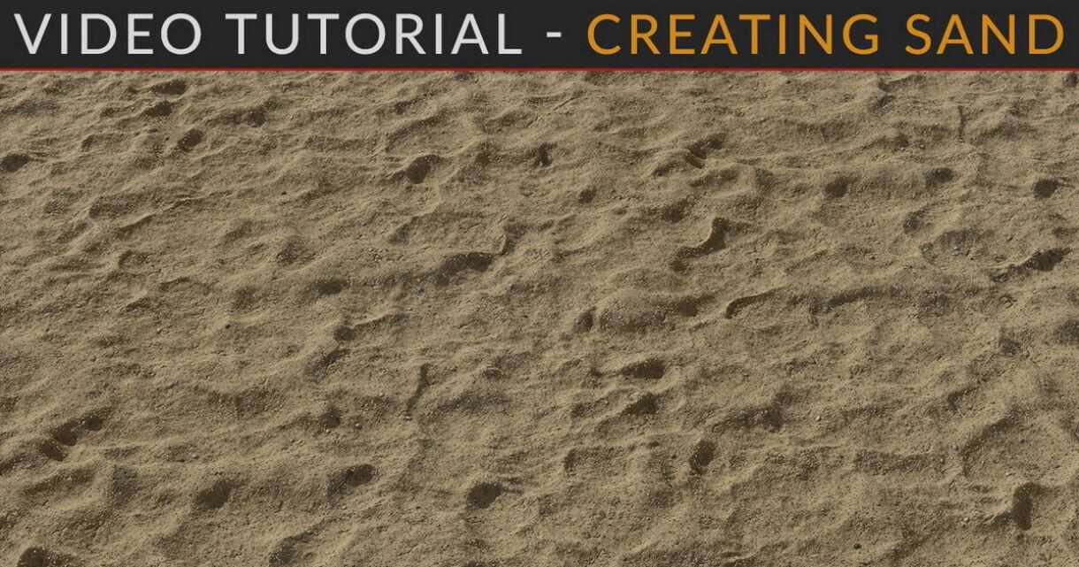 Sand in Substance Designer with Josh Lynch