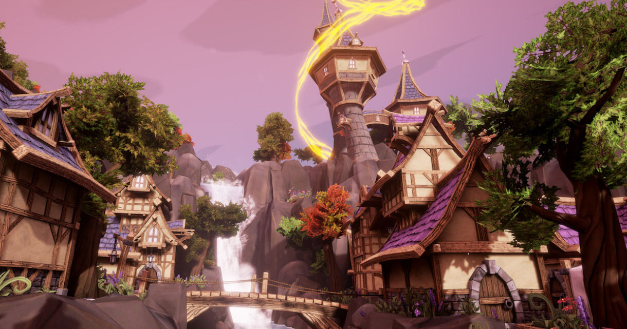 Stylized take on Environment Building