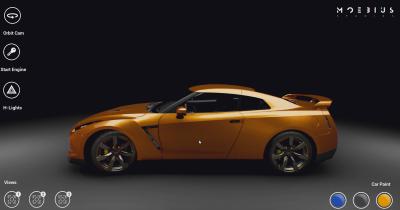 Creation Interactive Nissan GTR Presentation