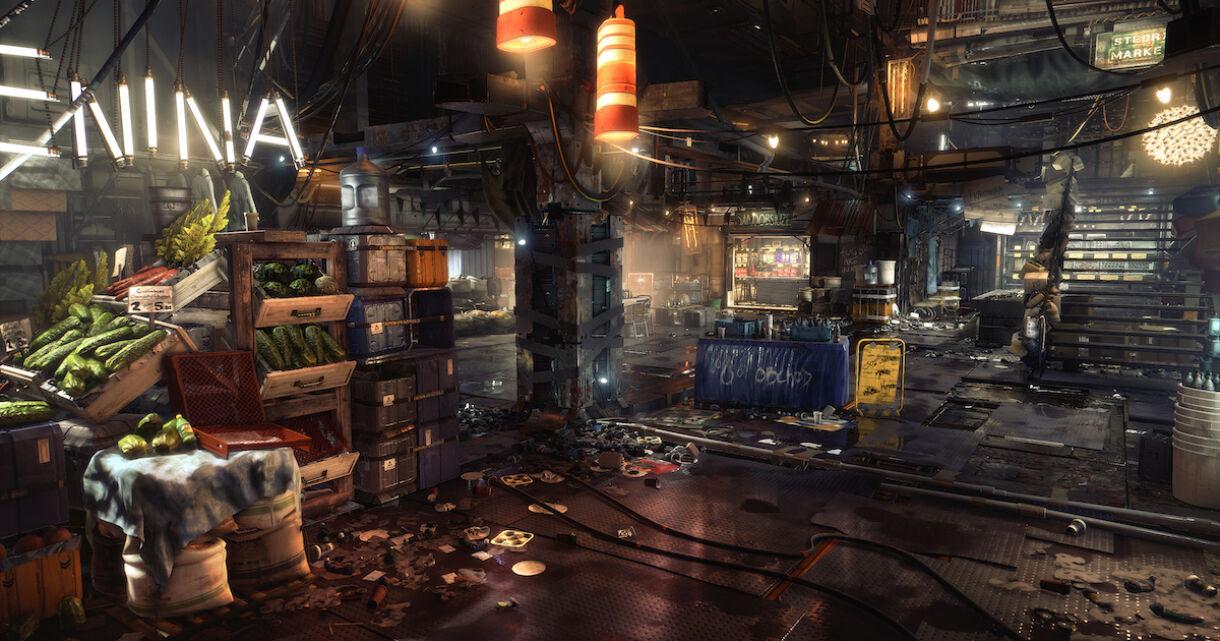 Deus Ex: Mankind Divided: Building Interior Levels