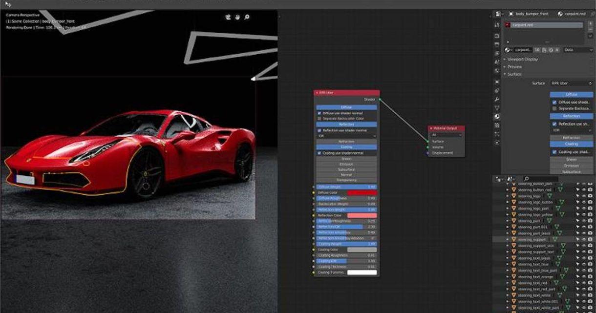 Radeon ProRender for Blender 2.0 Available