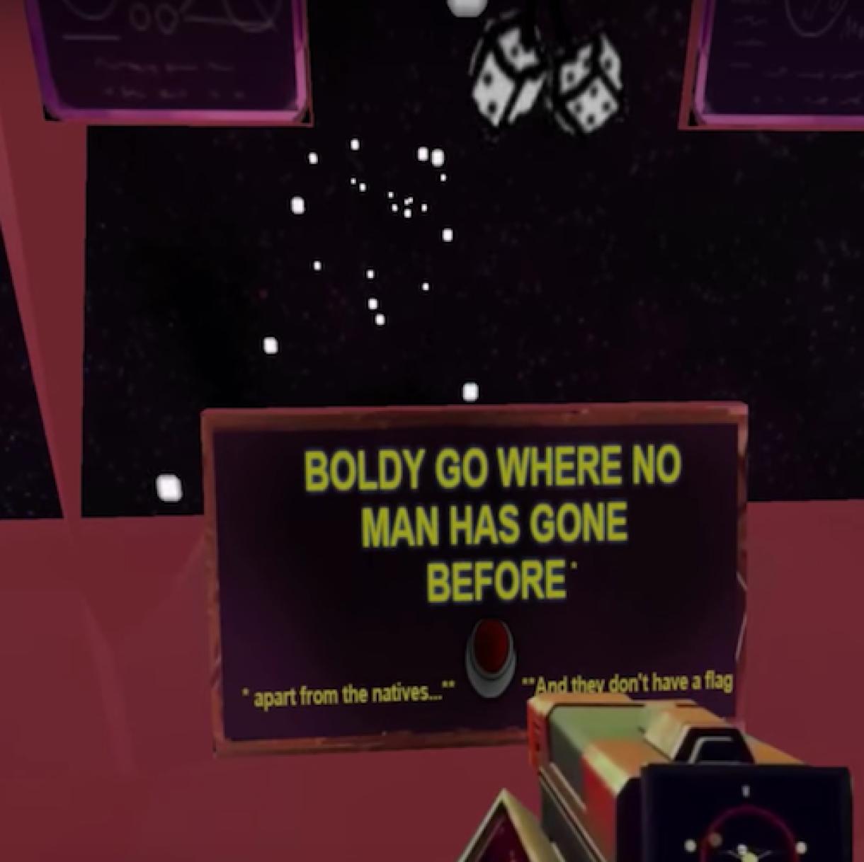 No Man's Sky recreated in three weeks