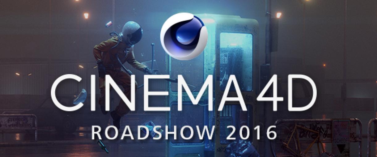 Cinema 4D Hits The Road