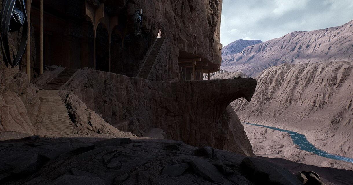 Sculpting Desert Civilization in 3D