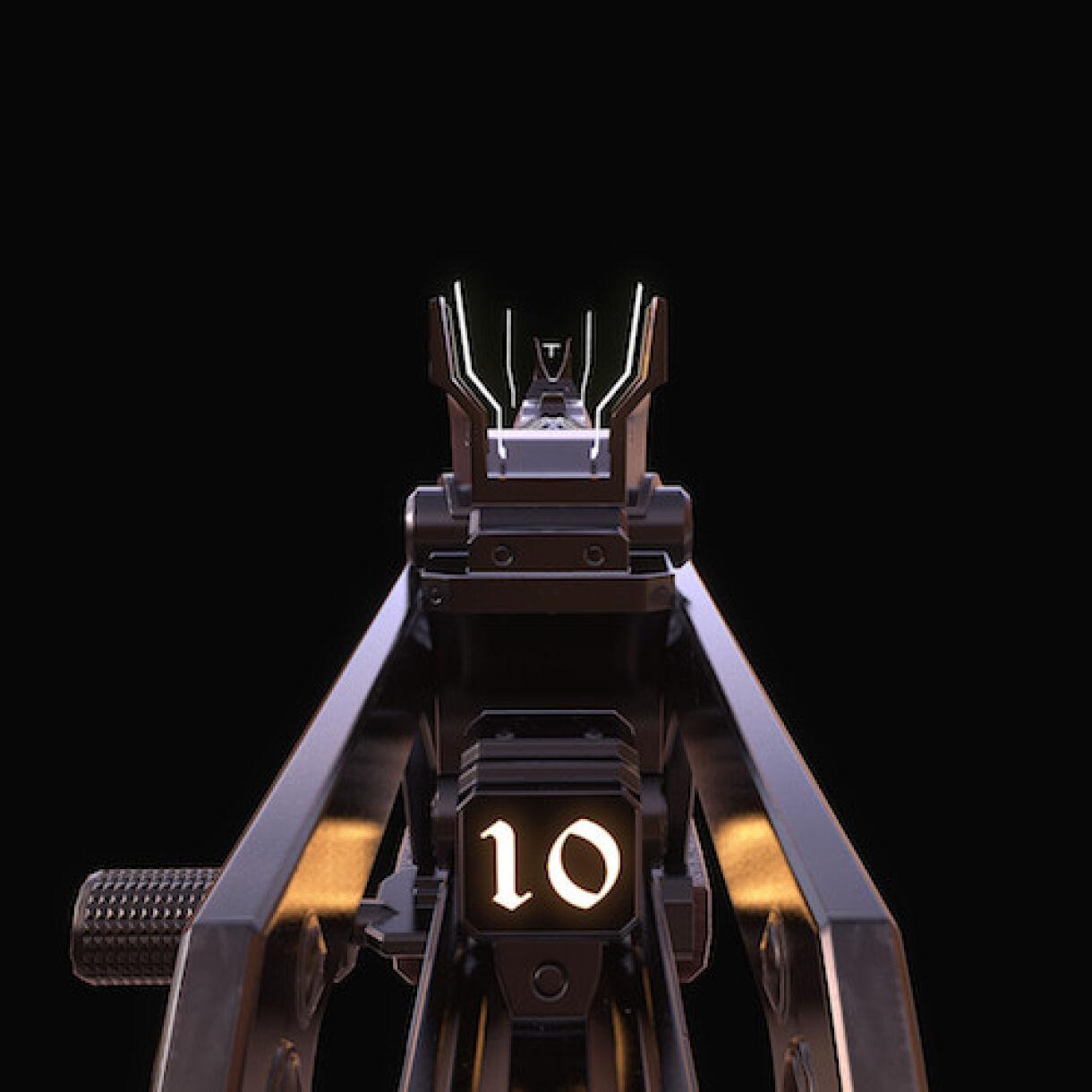 John Mesplay: Texturing a Gun From Destiny