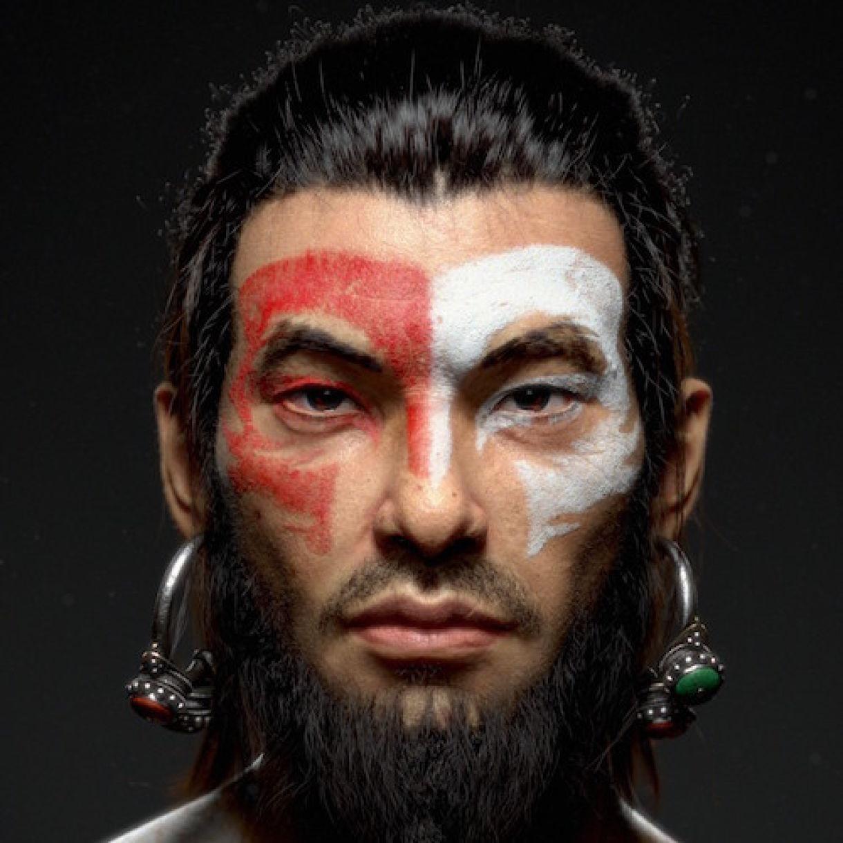 Creating Realistic Oriental Druid Model