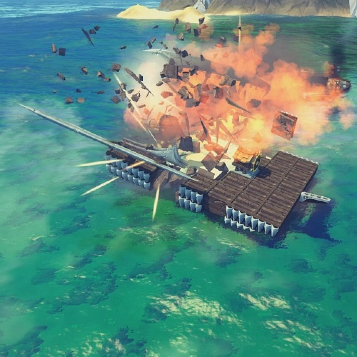 The Last Leviathan – New ship building and destruction game