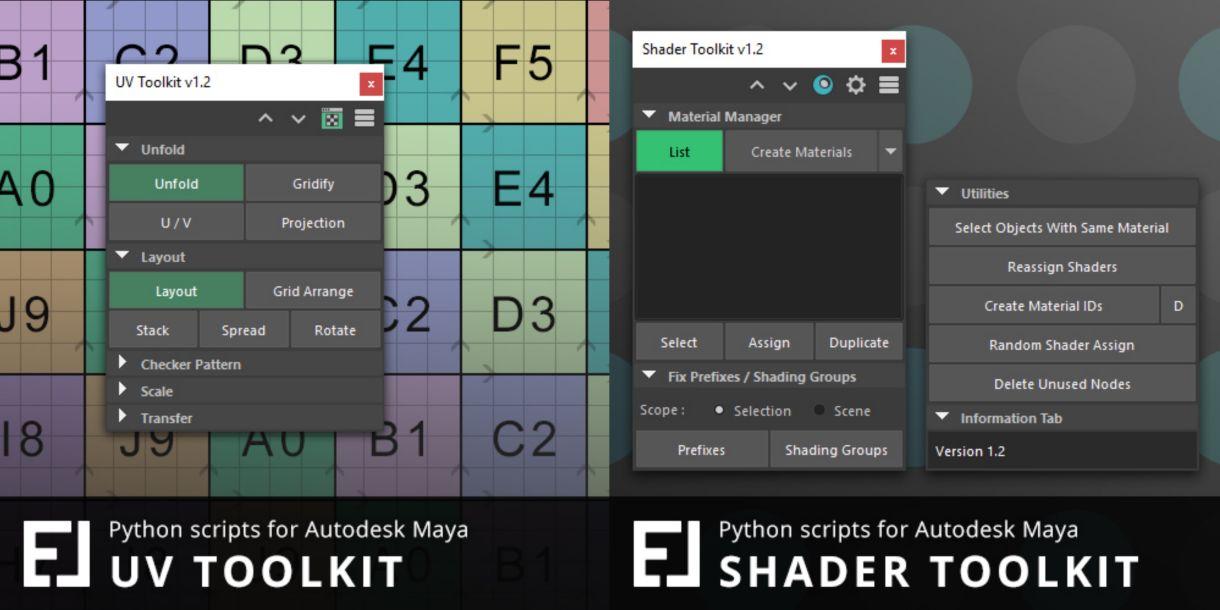 Mesh Toolkit for Maya