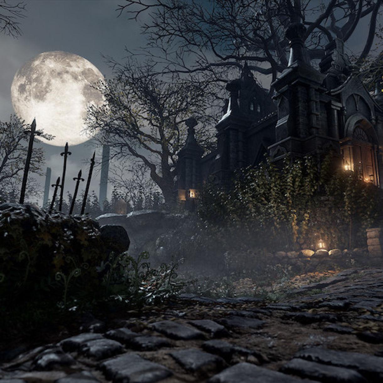 Bloodborne's Hunters Dream in Unreal Engine 4