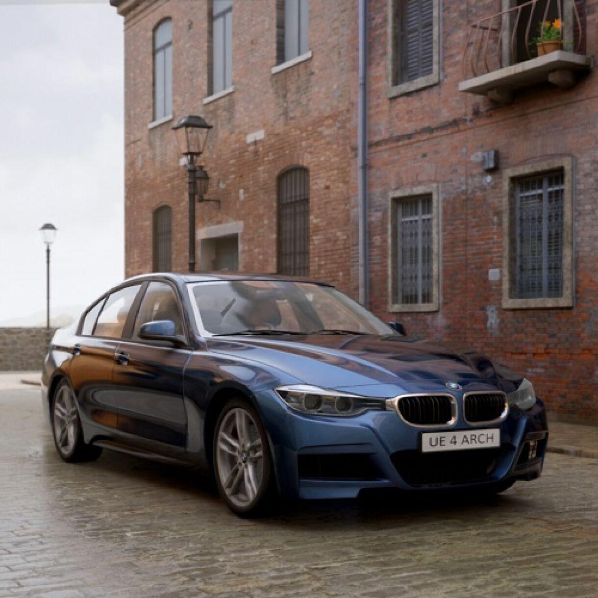 Building BMW Customisation Tool in UE4