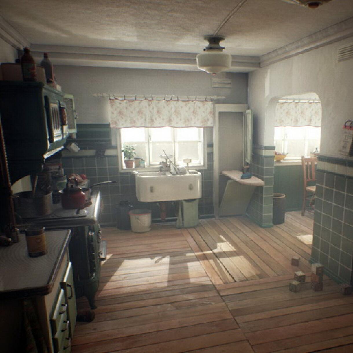 "Detailed Breakdown of ""Kitchen 1930"" Scene"
