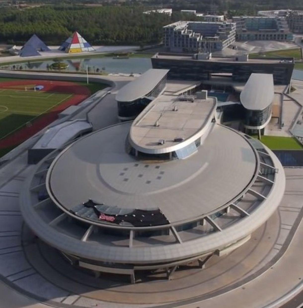 $97 Million Spent to Make Building Look Like Star Trek Enterprise