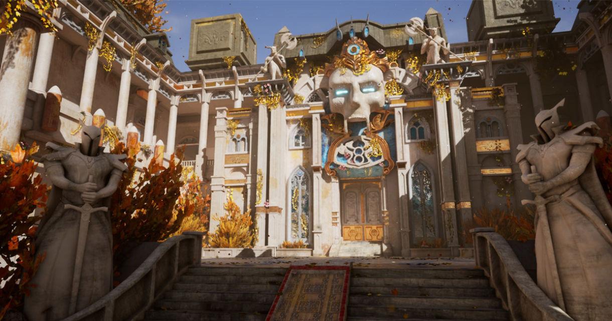 Modular Temple in UE4: Blockout, Assets, Materials